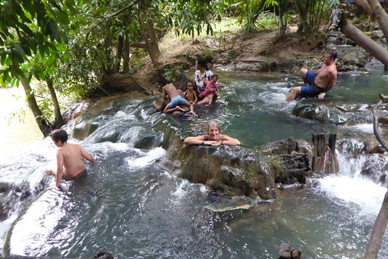 Khlong Thom, Tailândia: Hot spring