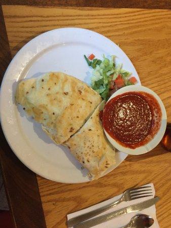 Tortilla Flats: Senior Half Chicken Quesadilla