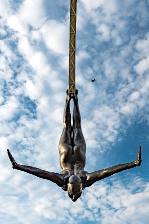Statue La Plongeuse