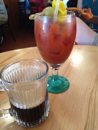 Summerland Key, FL: Espresso and Bloody Mary
