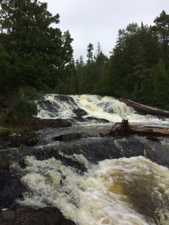 Copper Harbor, MI: Lower Falls