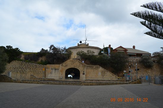 The Fremantle Round House: Front view