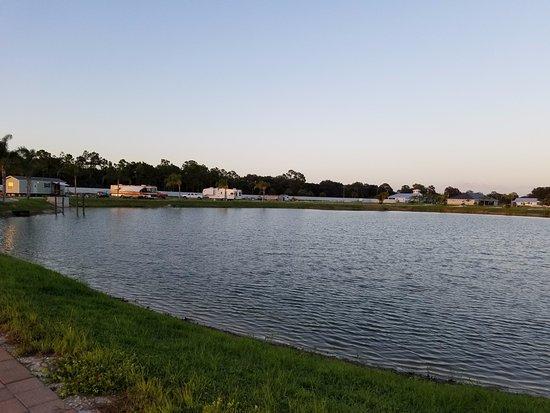 LaBelle, FL: Lake view