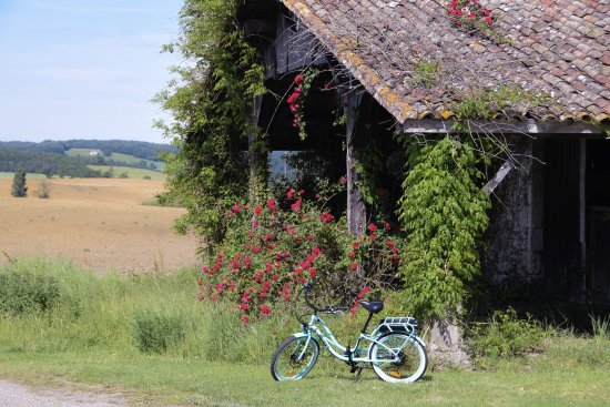 Eymet, ฝรั่งเศส: Countryside and Bikes? Yes please!