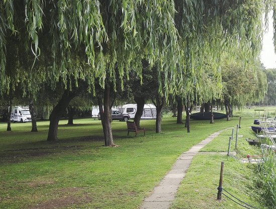 Brampton, UK: Our pitches for C.L customers on Marina Fields