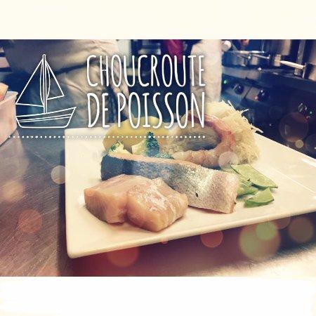 Le flocon la rosiere place des eucherts restaurant for Flocon poisson
