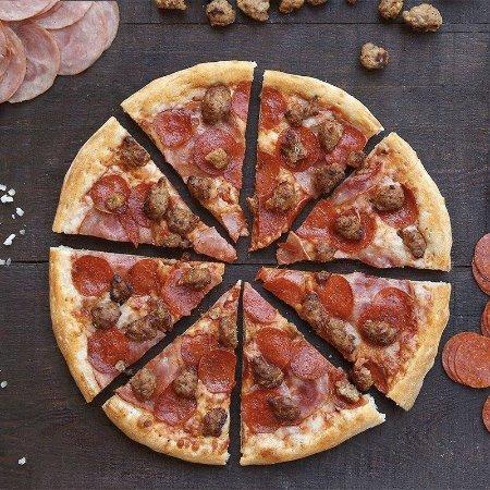 Carencro, LA: Be happy eat more PIZZA!!!