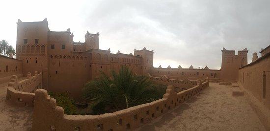 Kasbah Amridil : vista desde la cubierta