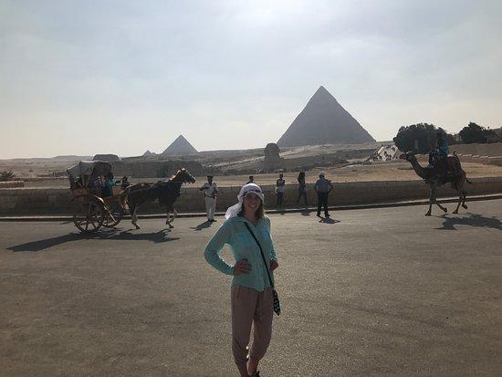Egypt Fun Tours Day Trips : The pyramids