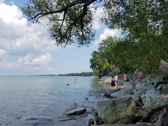 St. Catharines, Canadá: this is nelles Beach (15 miles west from Lake side)