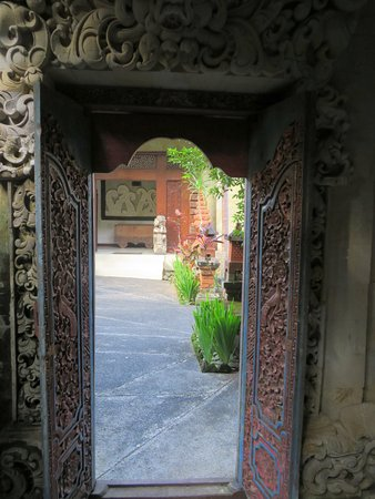 Bali Spirit Hotel and Spa : cortile