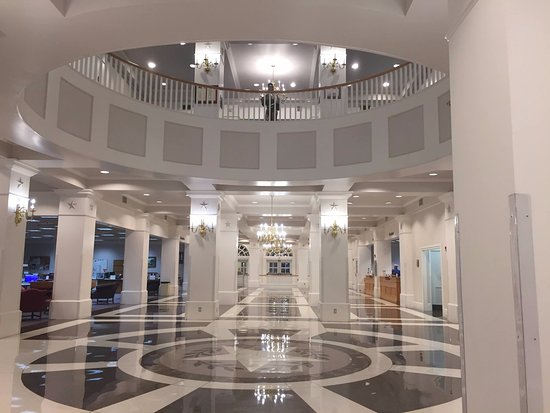 Denton, TX : First floor of the Blagg-Huey Library