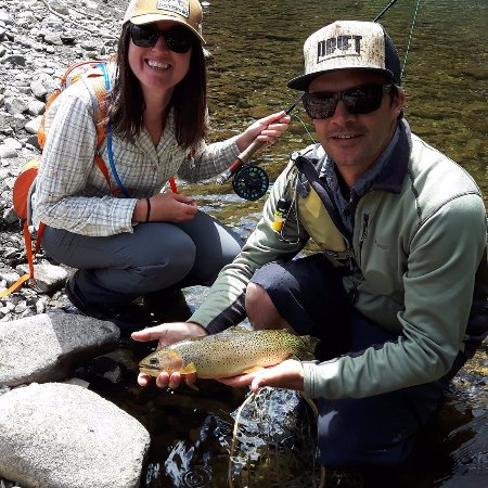 Elk River Guiding Company - Day Trips: Aubrey put us on so many great cutthroat!