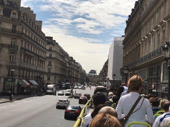 Opera district: The street Auber