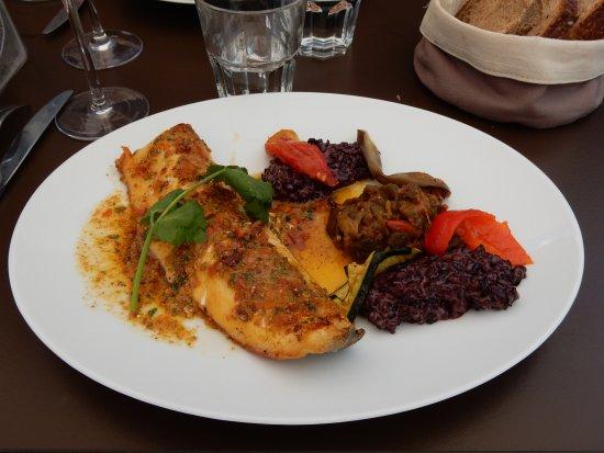 La Cuillère à Omble Café Restaurant: Filet d'omble chevalier