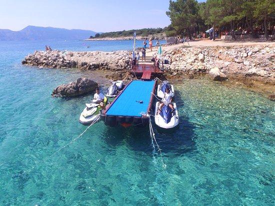Pinezici, Croatia: Rent A Jet-Ski Berkovic