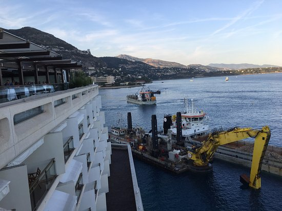 Fairmont Monte Carlo: VIEW AROUND FAIRMONT MONTE-CARLO, AUGUST 2017.