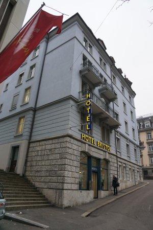Bristol Hotel Zürich: 酒店外觀