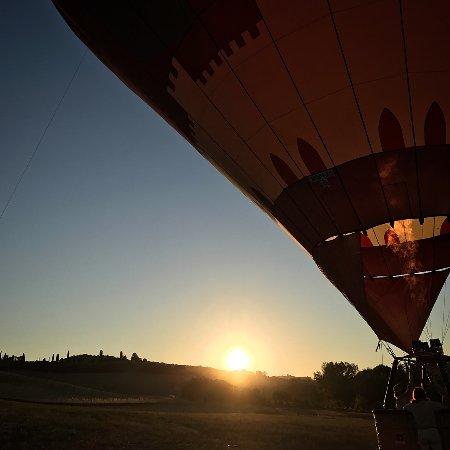 Ballooning in Tuscany: 23-8-2017