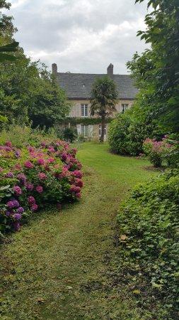 Manoir de Bellauney: jardin