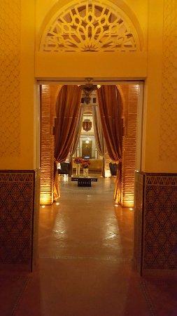 Hotel Les Jardins de l'Agdal: entrée hotel