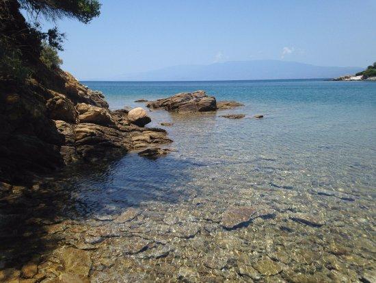 Lafkos, Hellas: il mare del Pelion
