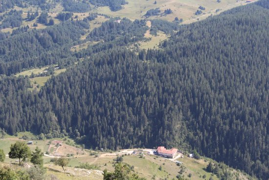 Smolyan Province, Bulgaria: Hotel Mursal at the distance