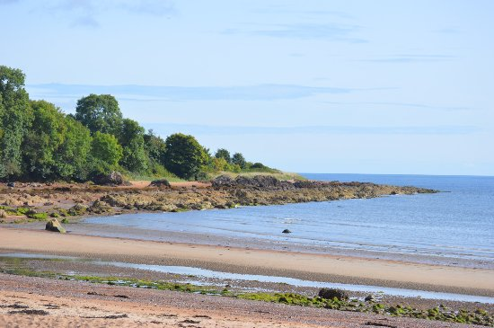 Rosemarkie, UK: View from the cafe