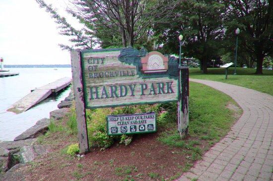 Brockville, Canadá: The Hardy Park