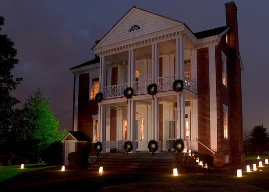 Chatsworth, GA: Visit the Chief Vann House during select days in December to see our  Christmas by Candlelight.