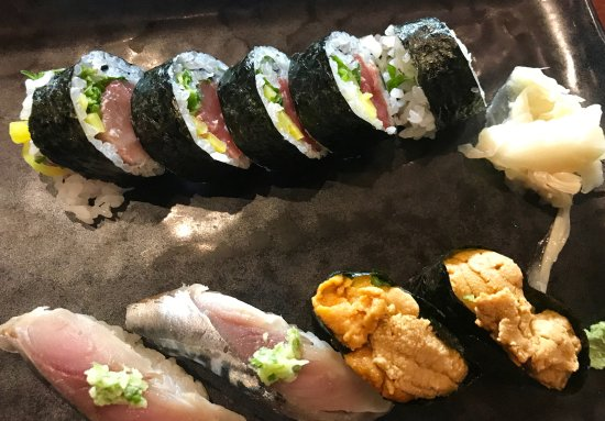 Bethesda, MD: Sushi with sea urchin