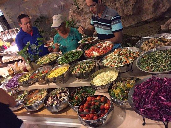 Hotel Prima Kings : Hora de deliciar a culinária de Israel