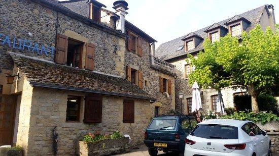 Au moulin d'Alexandre: Terrasse très sympa