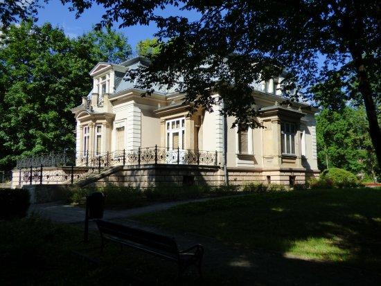 Karol August Dittrich town park in Zyrardow