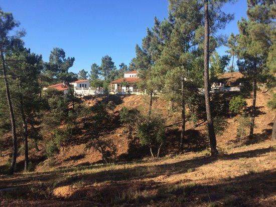 Valdelarco, สเปน: Vista desde la sierra
