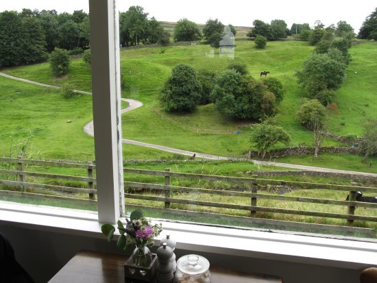 Hebden, UK: view from picture window