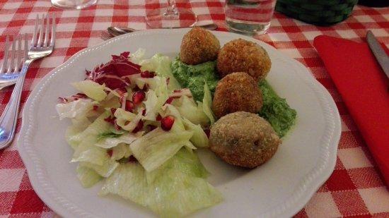 Ristorante la Cucinaccia ai Palazzi Rufini: Secondo vegetariano