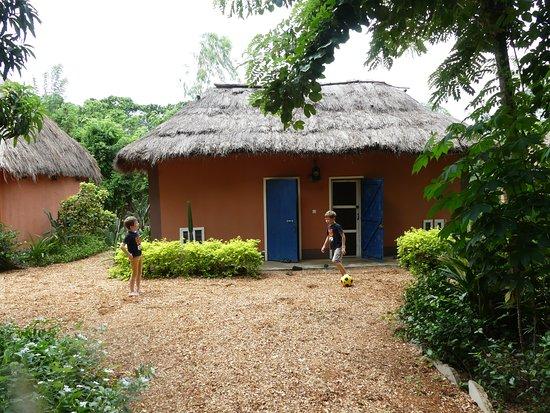 Dassa Zoume, Benín: Notre bungalow