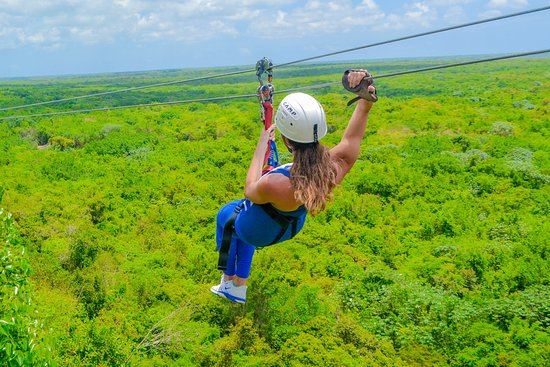 Scape Park at Cap Cana: Zip Line Eco Adventure