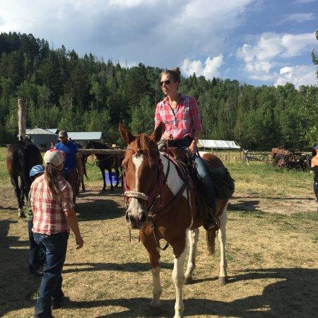 Linn Canyon Ranch: Daughter Virginia ready to ride 2016