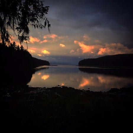 Angoon, AK: Sunset