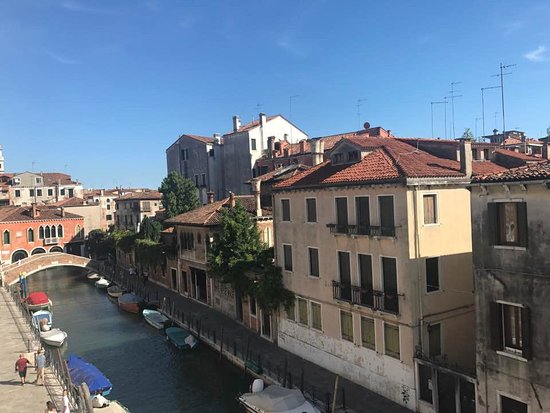 Residence Palazzo Odoni: View from the Tiziano duplex.
