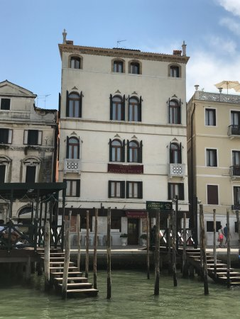Hotel Antiche Figure: View of hotel from canal.