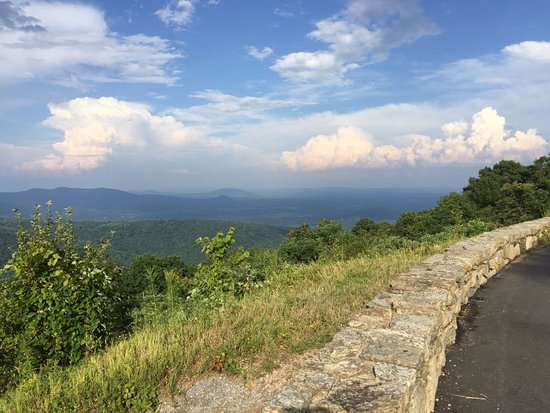 Just south of Compton Gap August 2017 Picture of Skyline Drive
