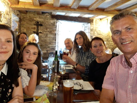 Church House Inn: Jackson family on holiday in Devon