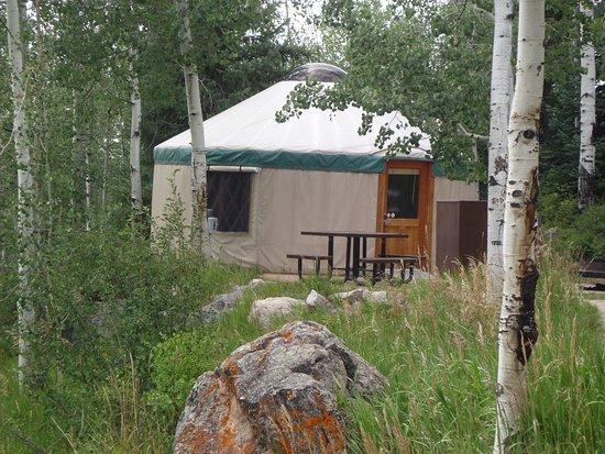 Eagle, CO: Yurts as Sylvan Lake