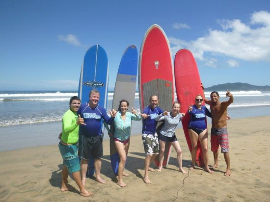 Playa Grande, Costa Rica: Surf day