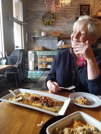 CRaVE: Polente and shrimp.. devine.
