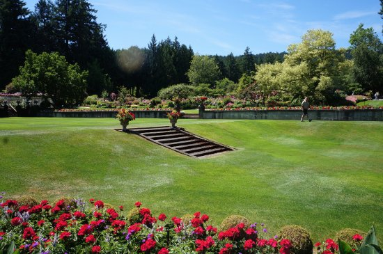 The Butchart Gardens: Manicured Lawns