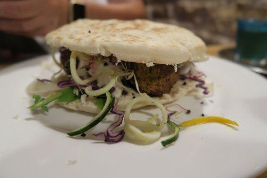 Le Shanti : Burger Falafelle